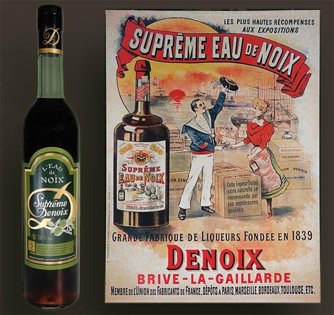 BRIVE_LA_GAILLARDE_Distillerie_DENOIX_affiche