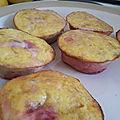 Des muffins avec rien que des fruits et des oeufs !