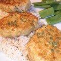 Tori-tsukuné - steak haché de poulet sauce teriyaki