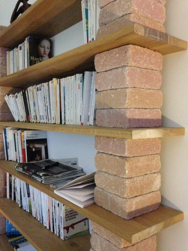 Une biblioth que sur mesure r aliser soi m me home and - Idee photo originale a deux ...