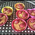 Muffins tout coco cerises