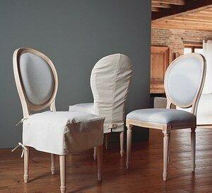 Tr s chic et romantiques ces chaises de style louis xvi - Ou trouver des housses de chaises ...