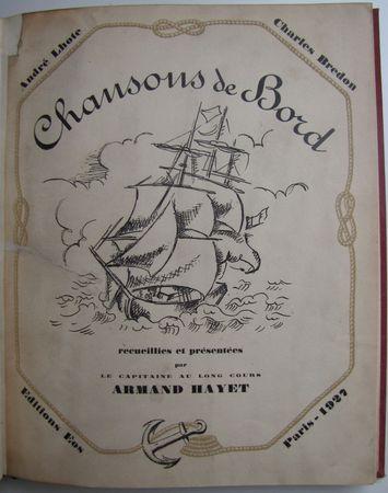 Chansons_de_bord_Armand_Hayet