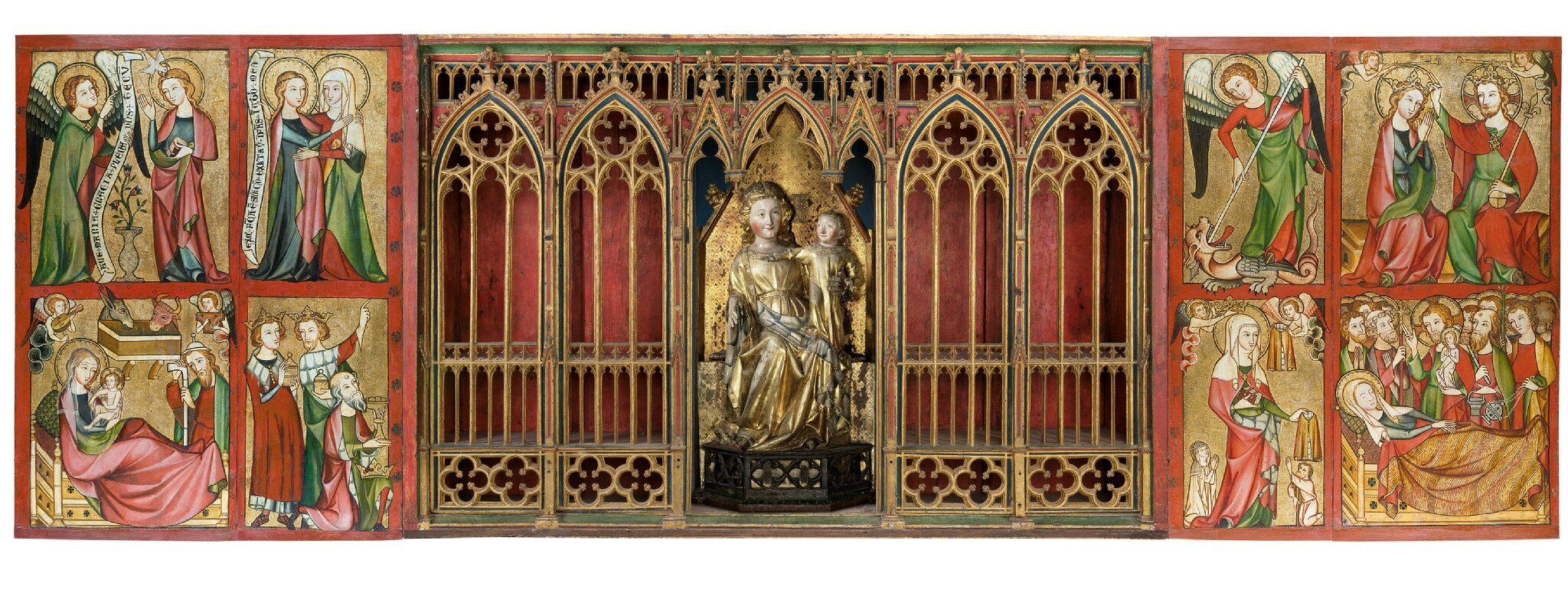 Heaven on display: The Altenberg Altar and its imagery on view in Frankfurt