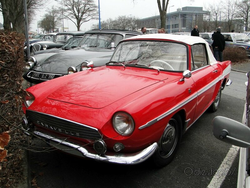 renault caravelle 1100 cabriolet 1964 1965 a