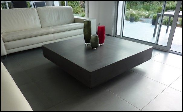 Un design exemplaire pour la table b ton cube mathi - Magasin decoration en ligne ...