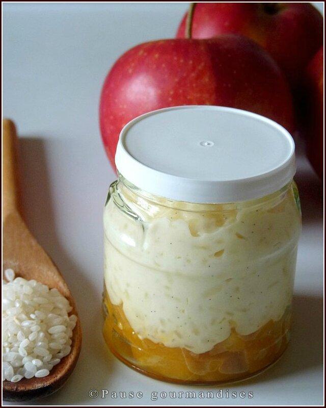 Riz au lait aux pommes caramélisées (14)