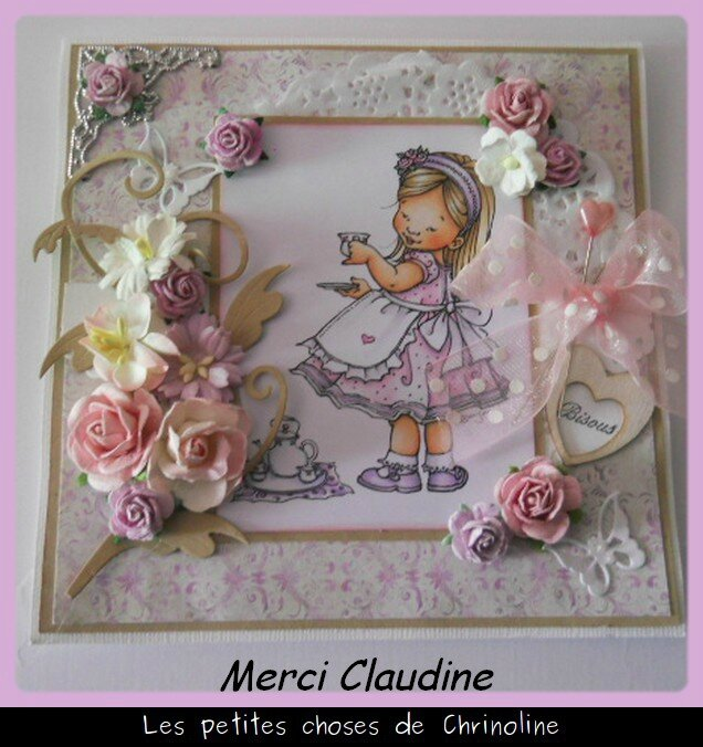 carte de Claudine