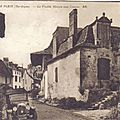 le fleix vieille maison aux canons