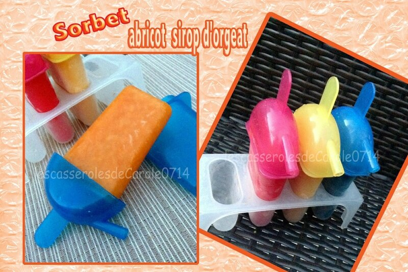 sorbet abricots sirop orgeat (scrap)