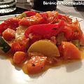 Curry doux de légumes aux noix de cajou.