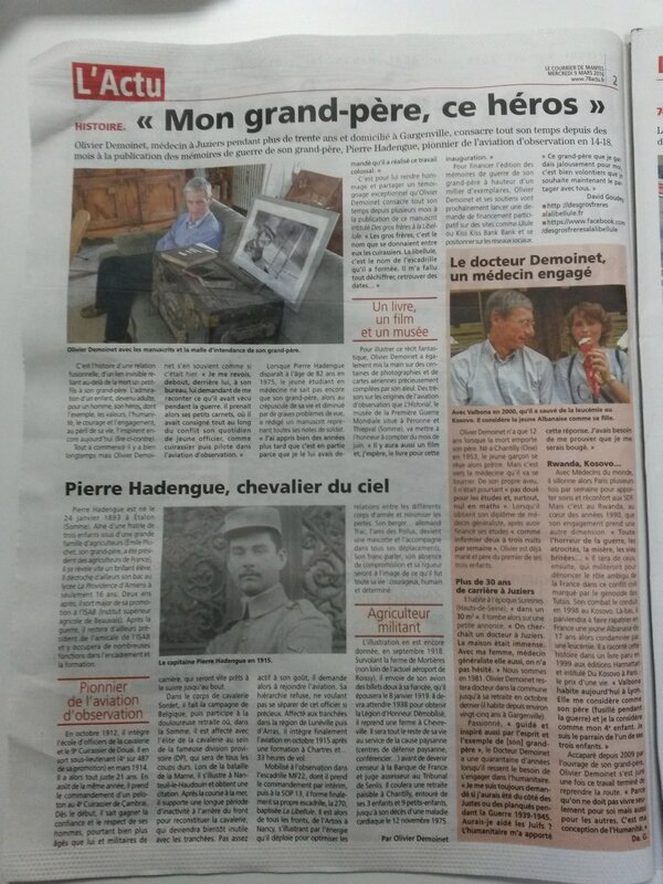 article courrier de mantes 9 mars 2016