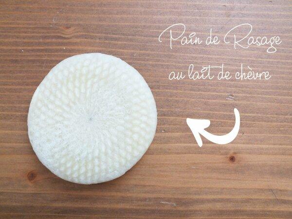 6 Petits gestes écolos dans ma salle de bain Ma Bulle Cosmeto Pain de rasage Chèvrerie de Chaillon