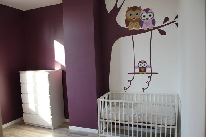 Deco chambre bebe theme hibou for Decoration chambre bebe hibou