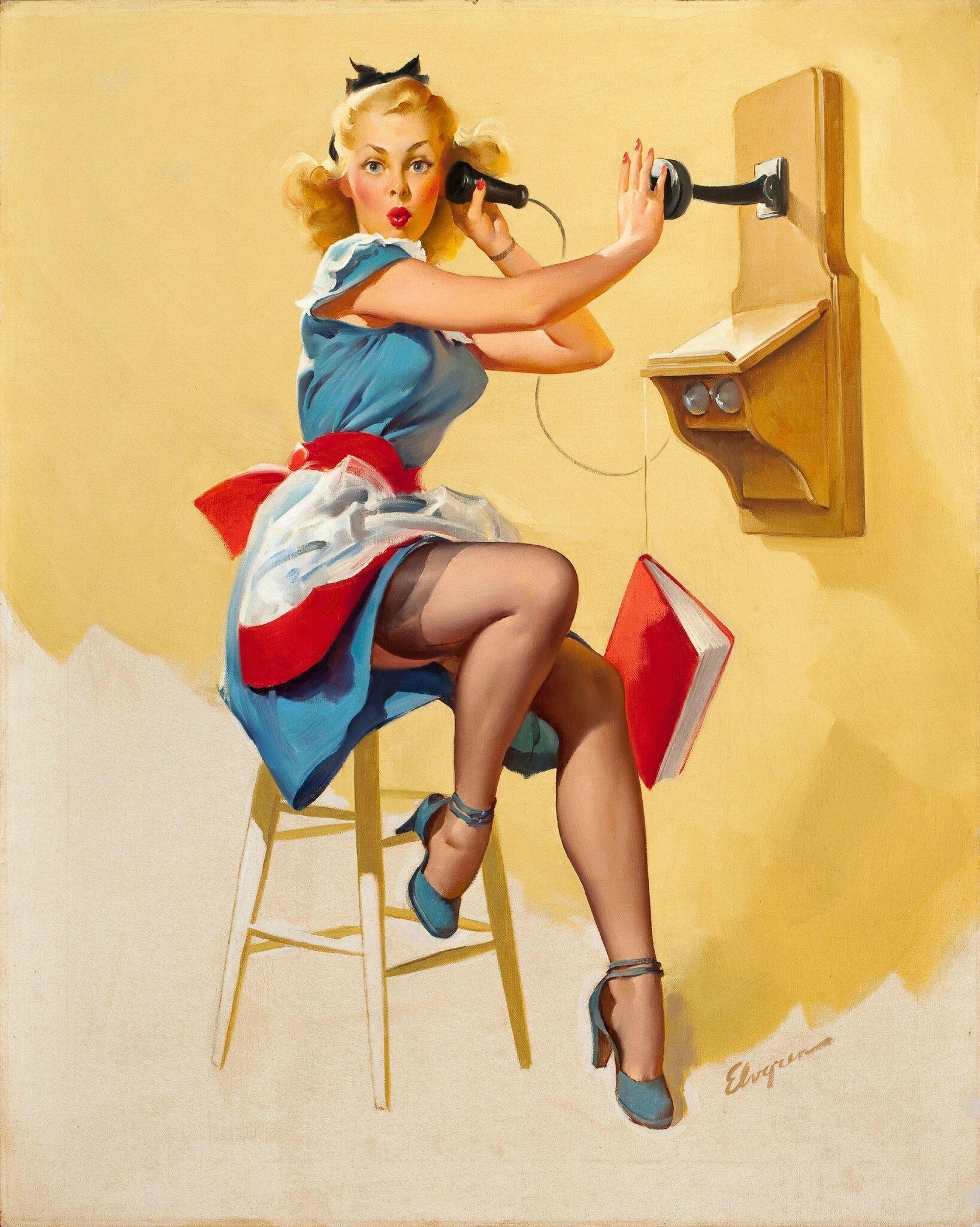 Pin-Up-Girls-Art-Paintings-28