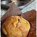Muffin à la pomme et confiture de lait