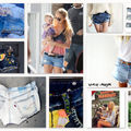 On my desktop ... obsession denim shorts