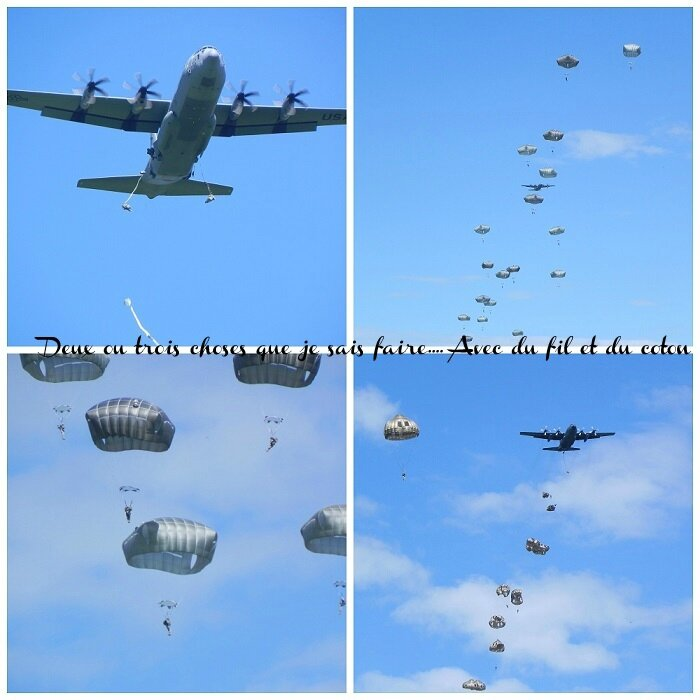 Collage Parachutage1