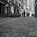 défi 12 Au ras du sol Muriel-rue pavée