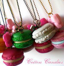 colliers macarons