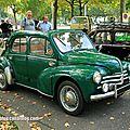 Renault 4 cv découvrable (retrorencard septembre 2014)