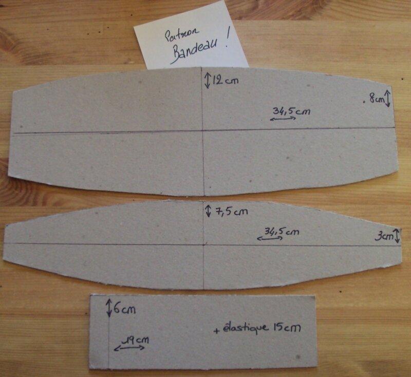 Bandeau 49/50 cm