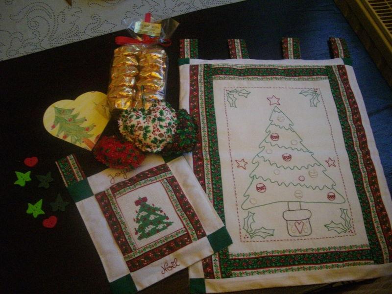 Echange de Noël avec Line du forum