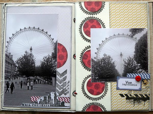mini album Londres pages 4 et 5