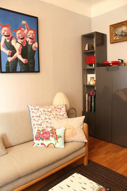 les coussins douillets sur mon canap la minute cocotte. Black Bedroom Furniture Sets. Home Design Ideas