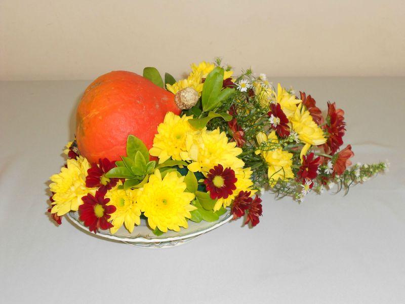 Composition automnale compositions florales passion fleurs for Composition florale exterieur hiver