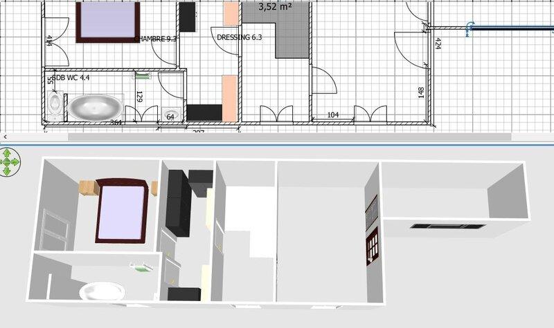 am nagement int rieur gr ce sweet home mise en place des suspentes traitement des bois et. Black Bedroom Furniture Sets. Home Design Ideas