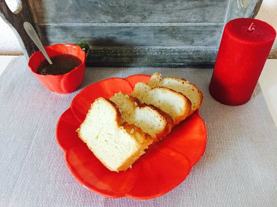 Brioche au yaourt sans oeuf