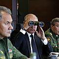 Zapad 2017 les manoeuvres militaires conjointes de la russie et de la biélorussie en présence de vladimir poutine