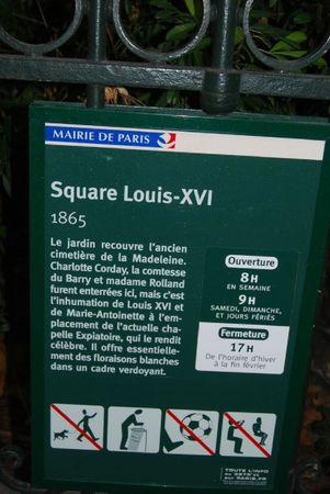 SQUARE LOUIS XVI