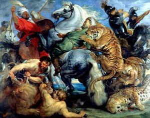 chasse aux tigres