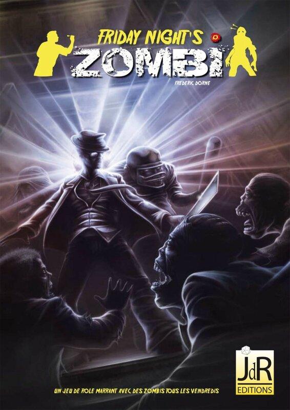 Boutique jeux de société - Pontivy - morbihan - ludis factory - Friday night zombies