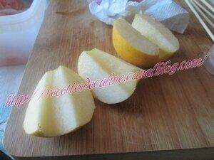 Brochettes de dinde et pommes grillées à la sauce sésame11