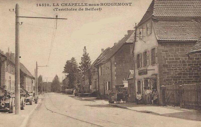 Chapelle sous Rougemont