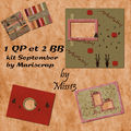 Pack bb et qp kit september by mariscrap