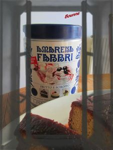 Cake aux cerises Amarena