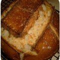 Mon 1er pain au levain (fiere de moi ;o)