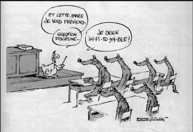 humour rentree des classes