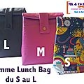 Lunch bag isotherme - mk & co design