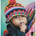 Un niño de guatemala