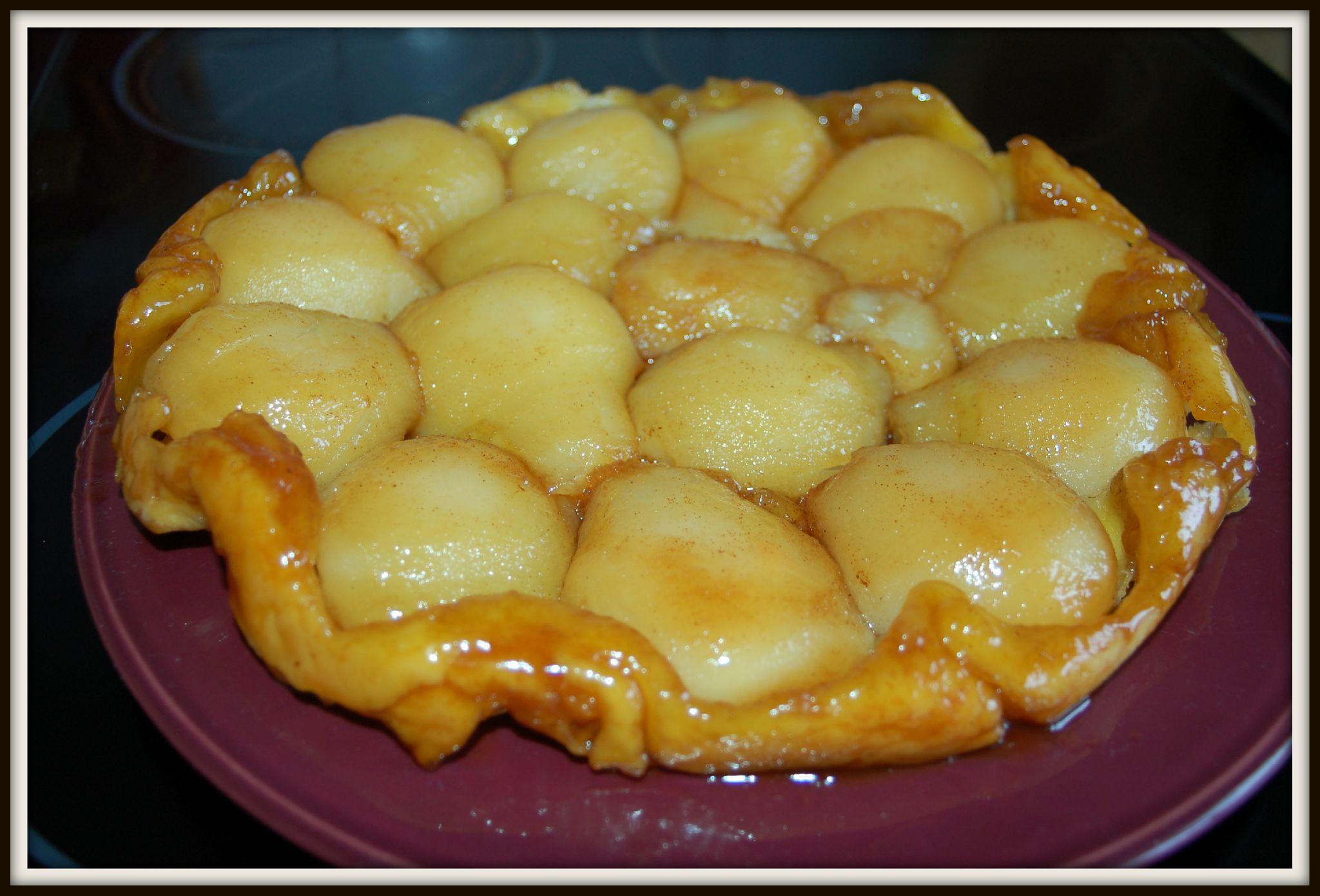 Tarte tatin aux poires - Mes tentations gourmandes