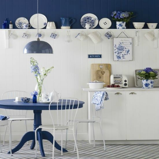 country-blue-and-white-kitchen-Ideal-Home-housetohome