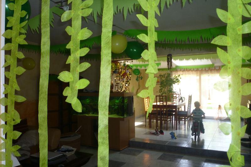 Deco Salon Jungle   enfin bouclée. voici donc la transformation de notre