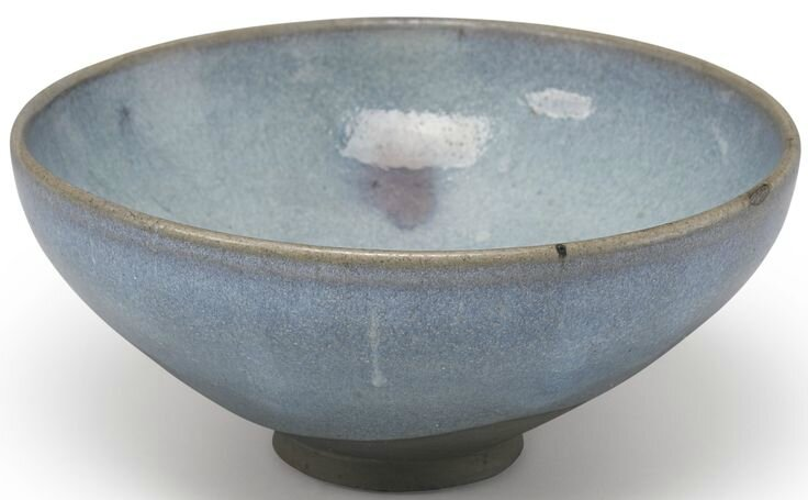 A purple-splashed 'Jun' bowl, Song dynasty