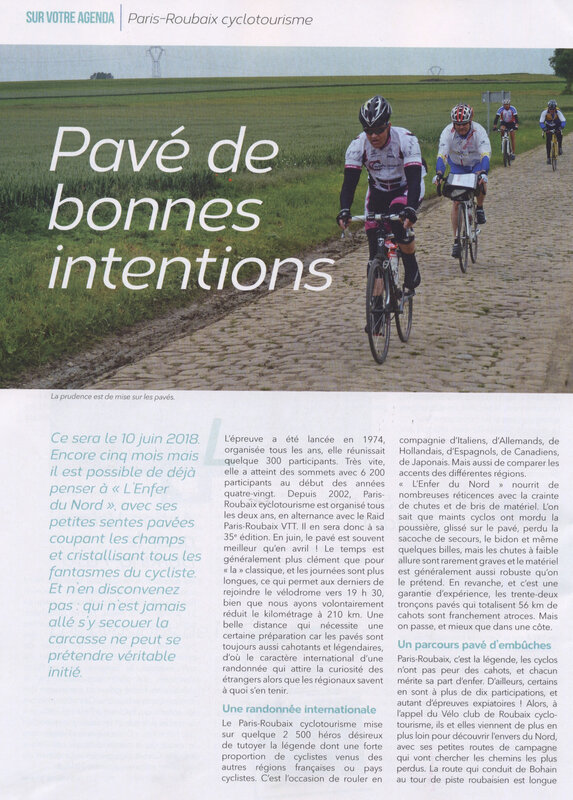 CYCLO PARIS ROUBAIX PAGE 1