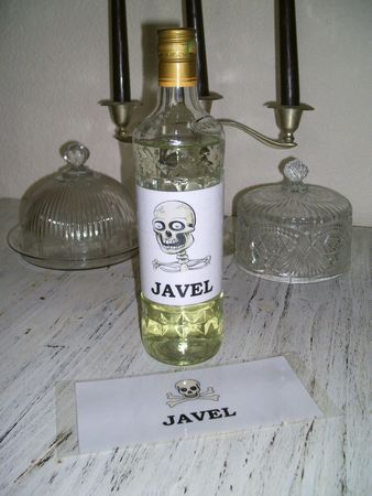 Bouteille Javel